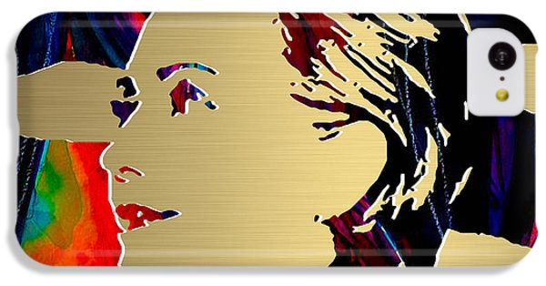 Hillary Clinton Gold Series IPhone 5c Case by Marvin Blaine