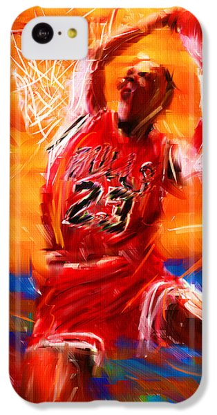 His Airness IPhone 5c Case by Lourry Legarde