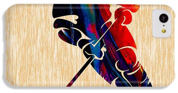 Hockey IPhone 5c Case by Marvin Blaine