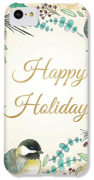 Holiday Wishes II IPhone 5c Case by Elyse Deneige