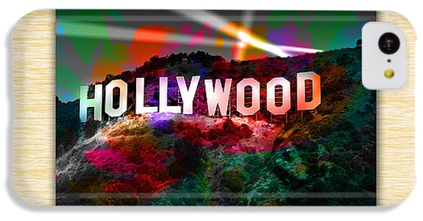 Hollywood Sign IPhone 5c Case by Marvin Blaine