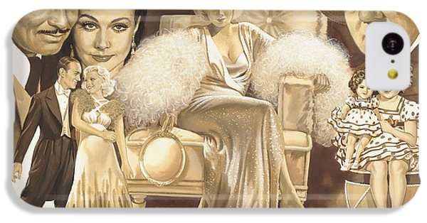 Hollywoods Golden Era IPhone 5c Case by Dick Bobnick