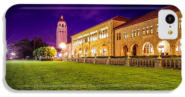 Hoover Tower Stanford University IPhone 5c Case by Scott McGuire