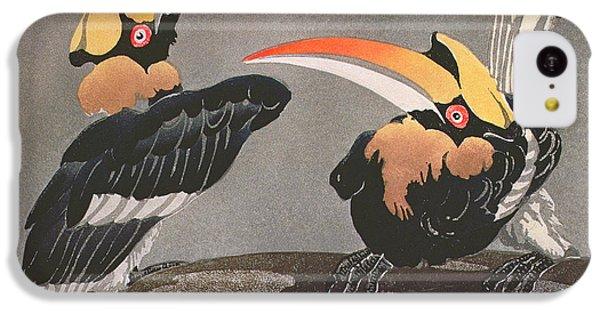 Hornbills IPhone 5c Case by Ethleen Palmer