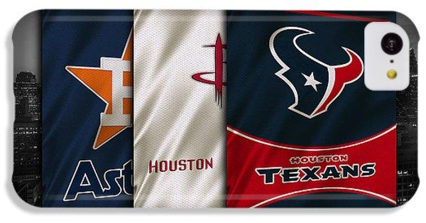 Houston Sports Teams IPhone 5c Case by Joe Hamilton