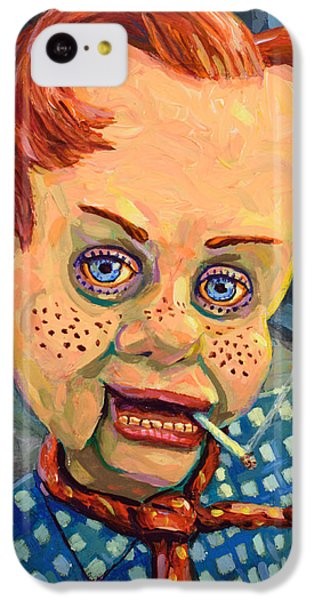 Howdy Von Doody IPhone 5c Case by James W Johnson