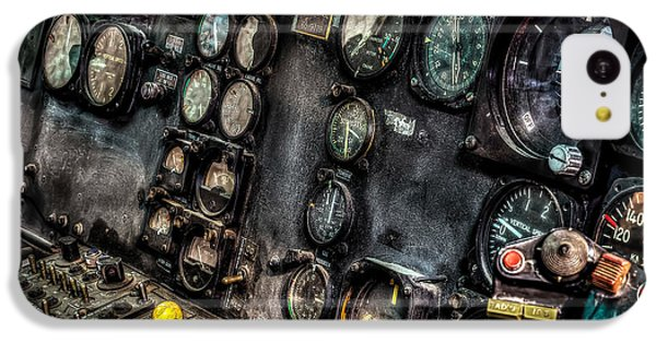 Huey Instrument Panel 2 IPhone 5c Case by David Morefield