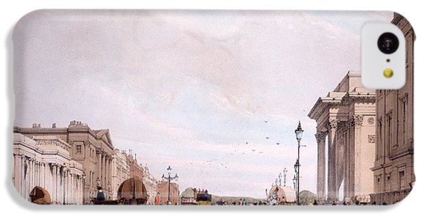 Hyde Park Corner, Looking IPhone 5c Case by Thomas Shotter Boys