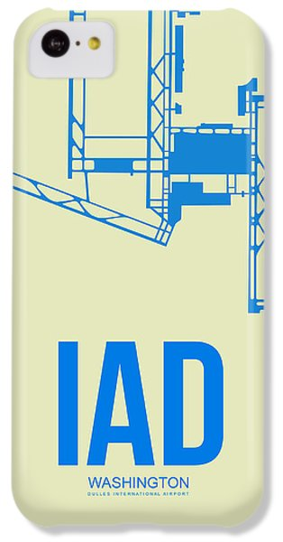 Iad Washington Airport Poster 1 IPhone 5c Case by Naxart Studio