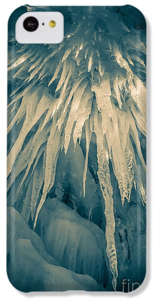 Ice Cave IPhone 5c Case by Edward Fielding