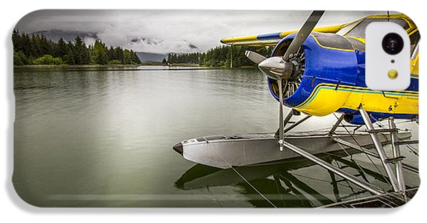 Idle Float Plane At Juneau Airport IPhone 5c Case by Darcy Michaelchuk