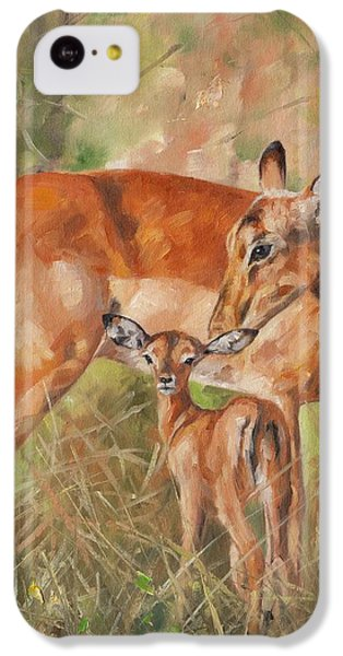 Impala Antelop IPhone 5c Case by David Stribbling