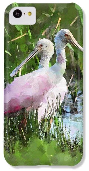 In The Bayou #2 IPhone 5c Case by Betty LaRue