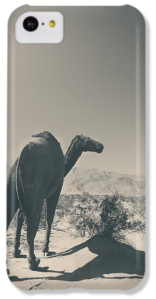 In The Hot Desert Sun IPhone 5c Case by Laurie Search