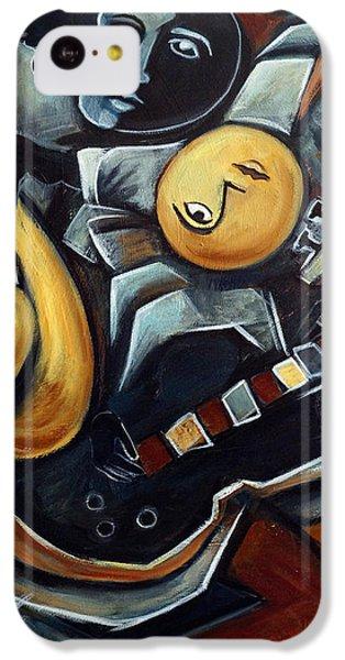 Indigo Blues IPhone 5c Case by Valerie Vescovi