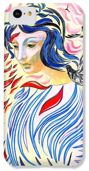 Inner Peace IPhone 5c Case by Jane Small