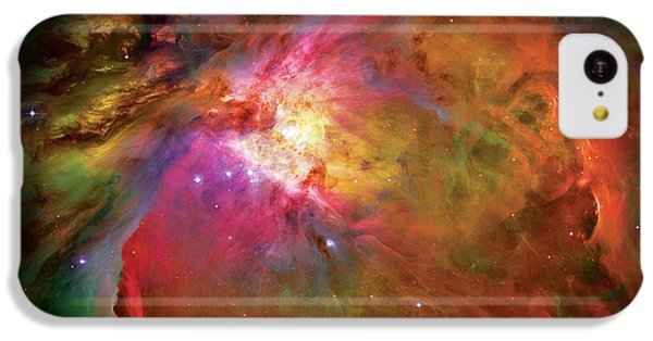 Into The Orion Nebula IPhone 5c Case by The  Vault - Jennifer Rondinelli Reilly