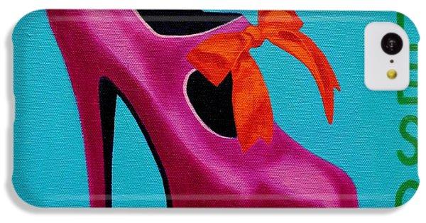 Irish Burlesque Shoe    IPhone 5c Case by John  Nolan