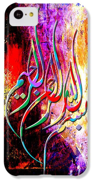 Islamic Caligraphy 002 IPhone 5c Case by Catf