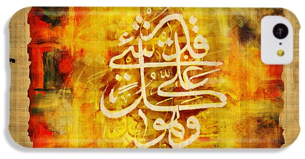Islamic Calligraphy 030 IPhone 5c Case by Catf