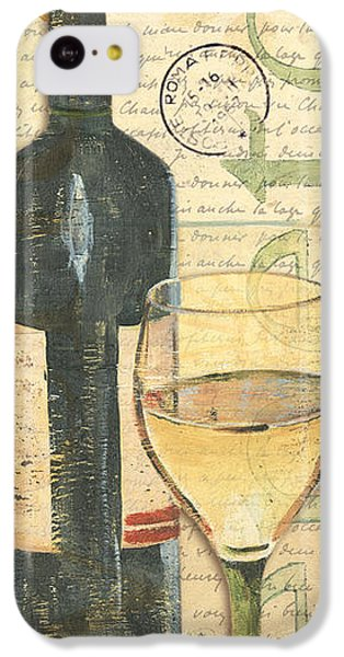 Italian Wine And Grapes 1 IPhone 5c Case by Debbie DeWitt