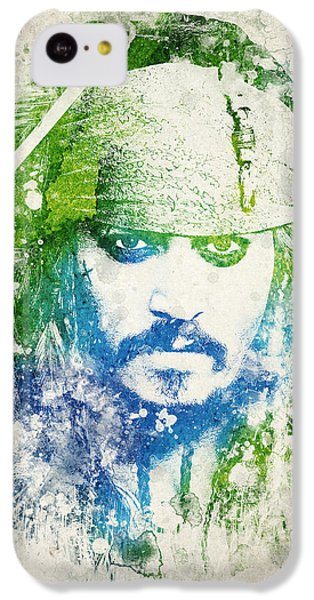 Jack Sparrow IPhone 5c Case by Aged Pixel
