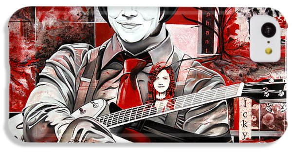 Jack White IPhone 5c Case by Joshua Morton