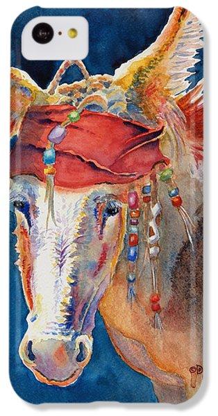 Jack Burro -  Donkey IPhone 5c Case by Deb  Harclerode