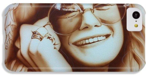 Janis Joplin - ' Janis ' IPhone 5c Case by Christian Chapman Art