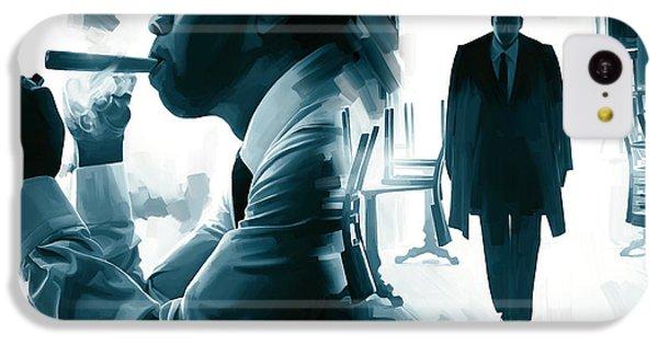 Jay-z Artwork 3 IPhone 5c Case by Sheraz A