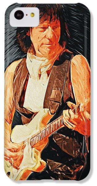 Jeff Beck IPhone 5c Case by Taylan Soyturk
