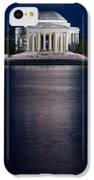 Jefferson Memorial Washington D C IPhone 5c Case by Steve Gadomski