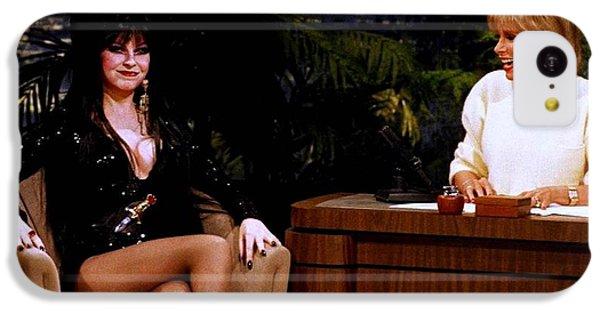 Joan Rivers And Elvira IPhone 5c Case by Brian Benjamin