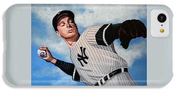 Joe Dimaggio IPhone 5c Case by Paul Meijering