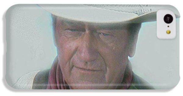 John Wayne IPhone 5c Case by Randy Follis