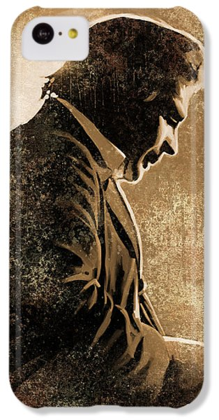 Johnny Cash Artwork IPhone 5c Case by Sheraz A