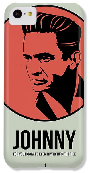 Johnny Poster 2 IPhone 5c Case by Naxart Studio