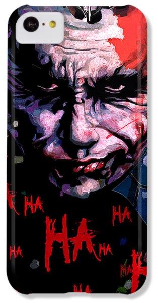 Joker IPhone 5c Case by Jeremy Scott