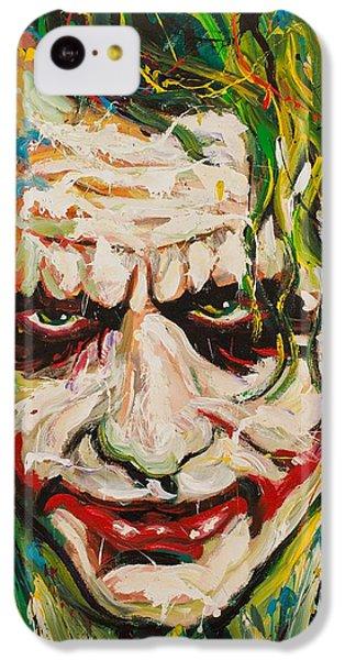Joker IPhone 5c Case by Michael Wardle