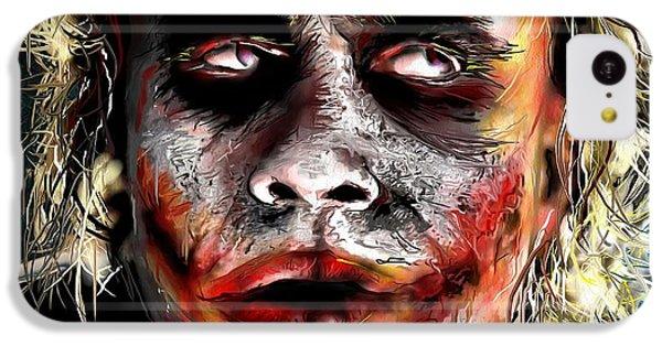 Joker Painting IPhone 5c Case by Daniel Janda