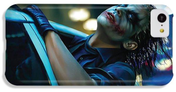 Joker IPhone 5c Case by Veronika Limonov