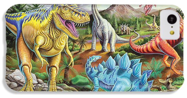 Jurassic Jubilee IPhone 5c Case by Mark Gregory