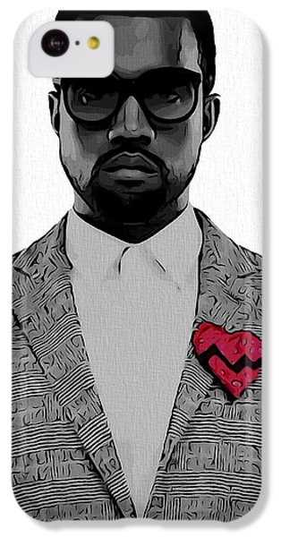 Kanye West  IPhone 5c Case by Dan Sproul