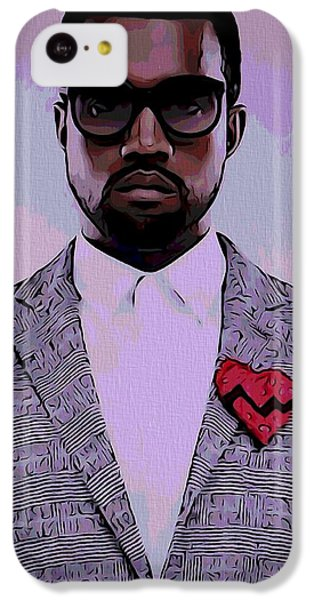 Kanye West Poster IPhone 5c Case by Dan Sproul