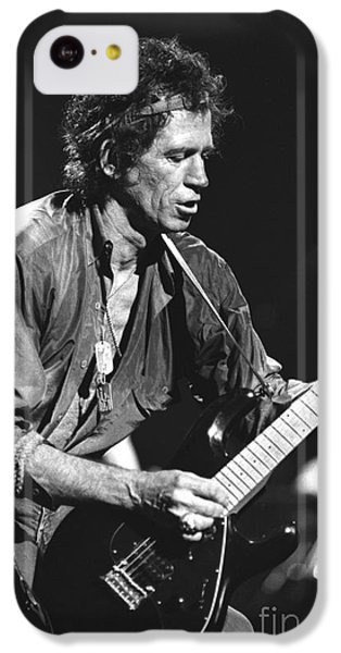 Keith Richards IPhone 5c Case by Concert Photos