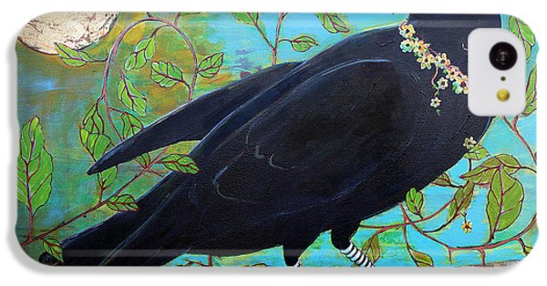 King Crow IPhone 5c Case by Blenda Studio