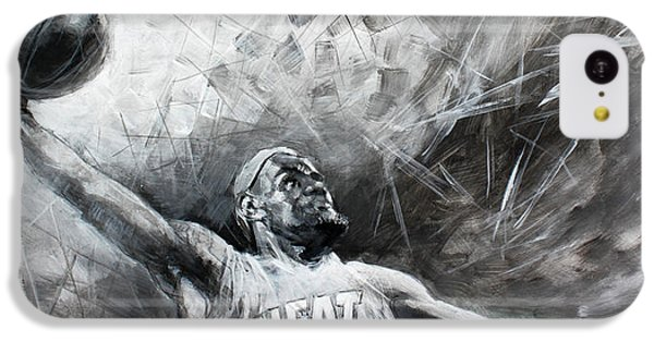 King James Lebron IPhone 5c Case by Ylli Haruni