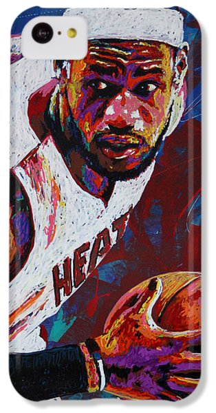 King James IPhone 5c Case by Maria Arango