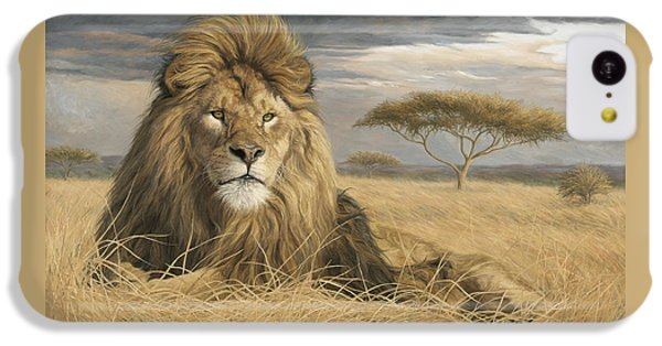 King Of The Pride IPhone 5c Case by Lucie Bilodeau