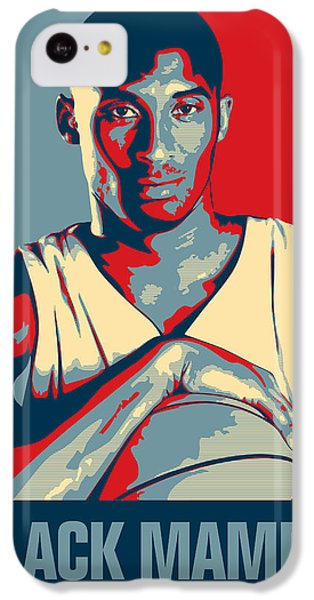 Kobe Bryant IPhone 5c Case by Taylan Soyturk